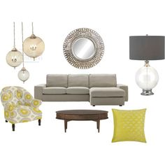 living room, created by lec9981.polyvore.com