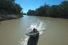 Boat in Murray-Darling Basin