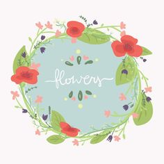 Flowers Banner vector graphic