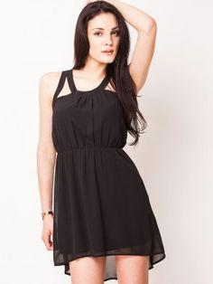 VERO MODA Asymmetric Dress With Keyhole Opening from KOOVS.COM