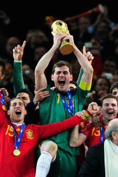 Iker Casillas - Netherlands v Spain: 2010 FIFA World Cup Final