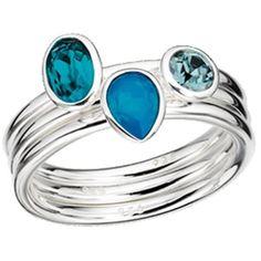 :) Swarovski Ring Collection