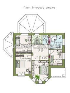 """🏠 """"Классика""""- двухэтажный особняк с эркером: цены, планировка, фото. Купить готовый проект House Plans, Catalog, Floor Plans, How To Plan, Yandex, Building, Arquitetura, Curves, Buildings"""