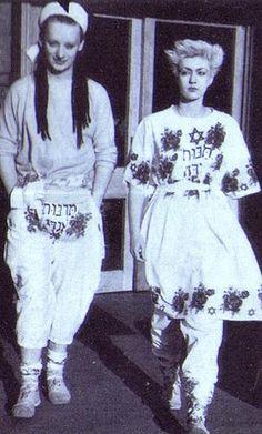 Boy George & Allison Hay in Sue Clowes