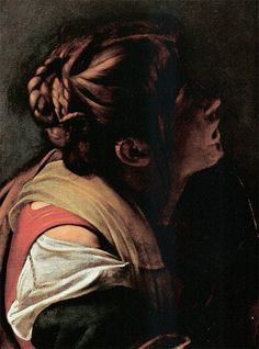Caravaggio, 1597 - note the seams on the chemise -