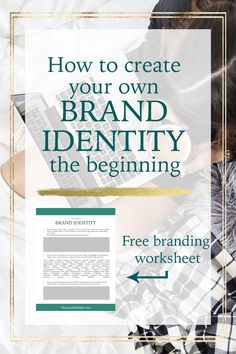 Branding is a difficult process but I'm helping you to find your true brand identity and create a brand design you absolutely love. In my series of blogpost I'm teaching you how to create your own brand from scratch. It's not only about implementing a nice color scheme and design a logo. Read now or save for later! - Monique Jebbink.com