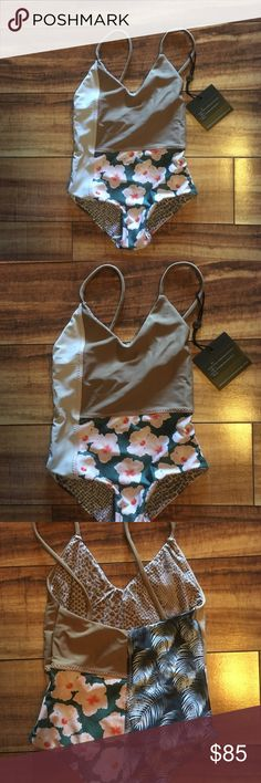 Acacia Swimwear Honey Tofino NWT Large New with Tag Tofino Summer Block 2. This is a Honey Size- for kids. Due to the high posh fees this is my lowest on posh🌺Bikini_lovas🌺 acacia swimwear Swim One Pieces