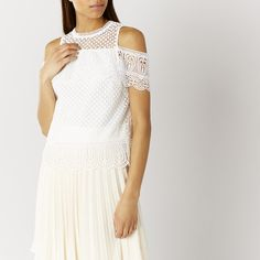 FABRON LACE TOP