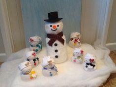 Snowman and the Seven Dwarfs !!