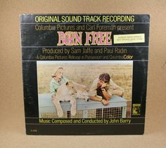 Born Free John Barry Vinyl Album - Original Sountrack Recording Record - Near Mint Condition