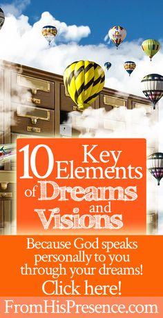 10 key elements of understanding dreams and visions! Plus a free vlog. | Supernatural | Hearing God | Prayer | Angels