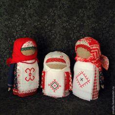 Купить Крупеничка (Зерновушка) Кукла-оберег с вышивкой 27 Берегинь - разноцветный, оберег, оберег для дома