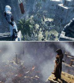Altair Vs New Assassin