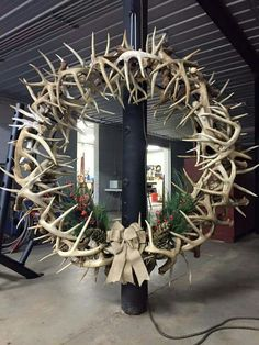 Antler wreath                                                                                                                                                     More