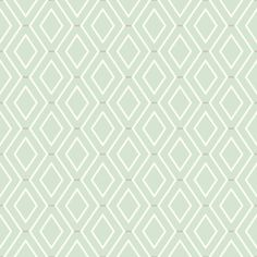 York Wallcoverings Waverly Classics II Diamond Duo Removable x Wallpaper Roll Colour: Beige Diamond Wallpaper, Old Wallpaper, Botanical Wallpaper, Metallic Wallpaper, Embossed Wallpaper, Green Wallpaper, Wallpaper Panels, Geometric Wallpaper, Textured Wallpaper