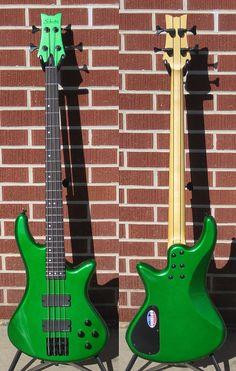 Schecter DIAMOND SERIES DCGL EXCLUSIVE FINISH Stiletto Custom-4 Electric Bass Guitar