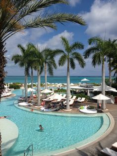 The Regent Palms Turks and Caicos. Would LOVE to go back there: