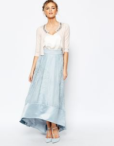 Coast+Sulla+Embroidered+Skirt+in+Pale+Blue