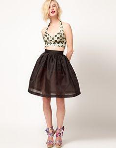 ASOS Africa Organza Skirt