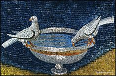 Ravenna - i mosaici (reserve a seat in the next class for me!) Galla Placidia Fons Vitae