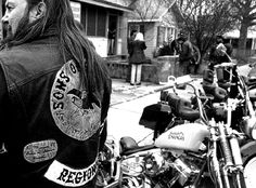 old outlaw biker images | ... at biker party living the life biker photography book old school