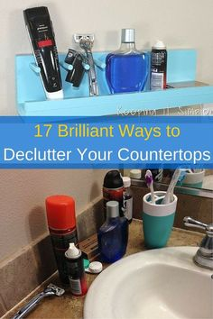 Buh-bye clutter, hello clean surfaces as far as the eye can see!
