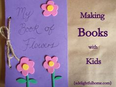 Handmade books kids can make - perfect with unit studies!