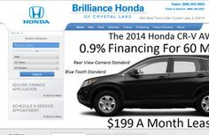 New Used Car Dealers added to CMac.ws. Brilliance Honda of Crystal Lake in Crystal Lake, IL - http://used-car-dealers.cmac.ws/brilliance-honda-of-crystal-lake/47826/