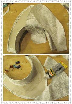 How to make a kokoshnik yourself Costume Hats, Folk Costume, Dance Costumes, Headdress, Headpiece, Costume Renaissance, Medieval Hats, Costume Venitien, Diy Hat