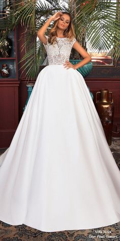 Milla Nova Wedding Dresses 2018 #weddings #dresses #weddingideas #gowns #bridalgowns ❤️ http://www.deerpearlflowers.com/milla-nova-wedding-dresses-2018/ #weddingdress