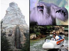 The Matterhorn Bobsleds at Disneyland
