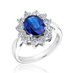 Sapphire and Diamond Ring 1ctw - Item 19143809 | REEDS Jewelers