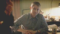 Sherlock: A Scandal in Belgravia Sherlock Holmes Bbc, Molly Hooper, Mark Gatiss, British Things, Steven Moffat, 221b Baker Street, Johnlock, Martin Freeman, Film Stills