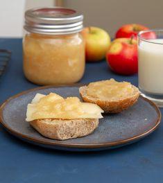 Eplemos // Apple sauce Cantaloupe, Panna Cotta, Berries, Vegetables, Eat, Ethnic Recipes, Desserts, Apple Sauce, Food