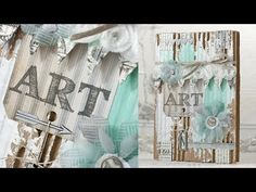A Video by Shari Carroll on how she made her Gorgeous Art Journal Cover for the Simon Says Stamp Blog.  December 2013