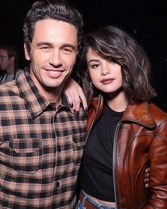 Selena Gomez with James Franco in the #CoachSS18 @selenagomez con James Franco en el #CoachSS18 #SelenaGomez #Selena #Selenator #Selenators #Fans
