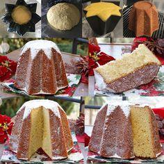 PANDORO SEMPLICE FATTO IN CASA Christmas In Italy, Italian Christmas, Noel Christmas, Christmas Desserts, Christmas Cookies, Italian Cookies, Italian Desserts, Pizza Yeast, Biscuits