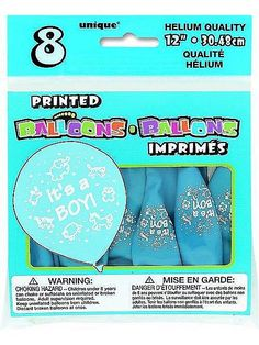 DIY Boy Baby Shower Party Ideas-Twinkle Twinkle Little Toes With a little boy on the way, so much excitement in the air! Have you got a Baby Shower organized? DIY Baby Shower Party Ideas for Boys Here. Its A Boy Balloons, Baby Shower Balloons, The Balloon, Baby Shower Gender Reveal, Baby Boy Shower, Shower Party, Baby Shower Parties, Wholesale Party Supplies, Birthday Box