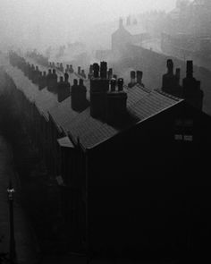 Bill Brandt - Misty Evening In Sheffield, 1937.