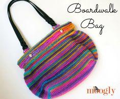 Boardwalk Bag - FREE crochet pattern on Mooglyblog.com! Part 1 of the Moogly Mini CAL for Autumn 2015!