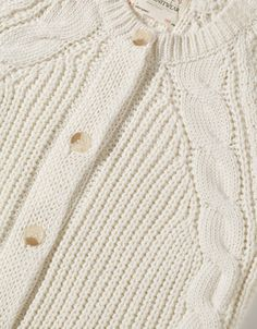 CABLE KNIT CARDIGAN - Cardigans and sweaters - Girl (2-14 years) - Kids - ZARA United States