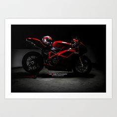 Ducati 1198 Sp Art Print by Elias Silva Photography - $16.00