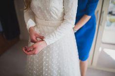 Bespoke Polka-dot Wedding Dress :: Glory Days