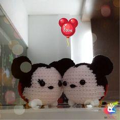 Amigurumi Tsum Tsum Free Pattern : 1000+ images about Crochet tsum tsum on Pinterest ...