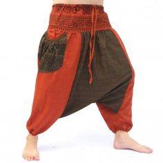 Afghani pantalon avec 2 poches latérales grand