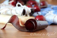 Cherry Fruit Leather aka-homemade fruit roll ups Fruit Kabobs, Fruit Snacks, Yummy Snacks, Yummy Food, Healthy Snacks, Yummy Treats, Sweet Treats, Cherry Recipes, Raw Food Recipes