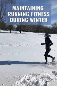 You can run less in winter without losing your fitness. Read these tips for maintaining running fitness during winter. Running In The Heat, Running In Cold Weather, Running Plan, Winter Running, Running Workouts, Trail Running, Running Tips Beginner, How To Start Running, Nordic Walking