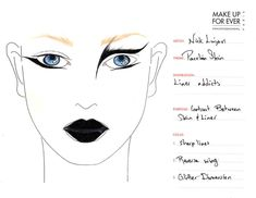 MUF Face Chart