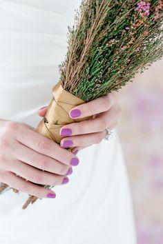 Purple wedding nails! #nailart