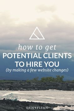 Once you find your clients, and make sure you're attracting the right ones, you still have to get potential clients to hire you. If they land on your website, and don't feel a connection, they'll be leaving. If it feels like potential clients know who you are, but you're still not getting hired, there might be something wrong on your website. Learn how a few changes to your website can help you book more clients, click through to read!